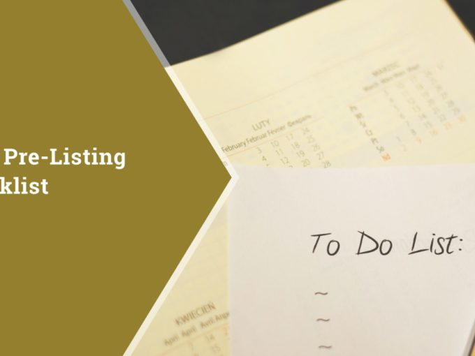 Your Pre-Listing Checklist